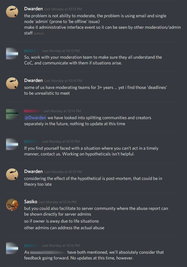 Discord asking Partners to sanitize servers of speech not
